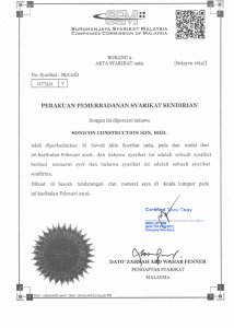 SSM Companies Commission of Malaysia